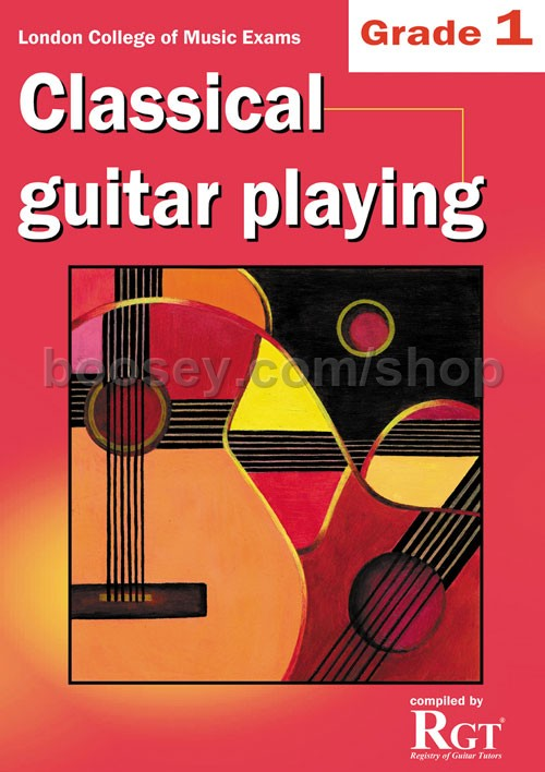 Grade 1 LCM Exams Classical Guitar Playing - London College of Music