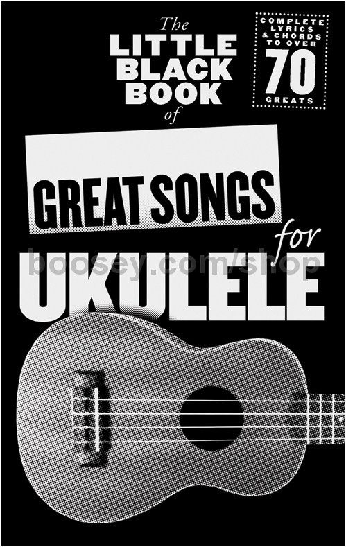 Various - The Little Black Book Of Great Songs For Ukulele