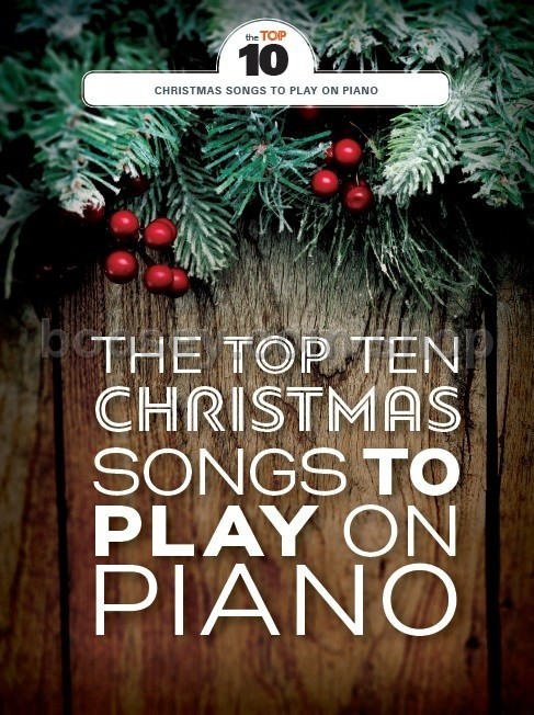 Various - Top Ten Christmas Songs To Play On Piano