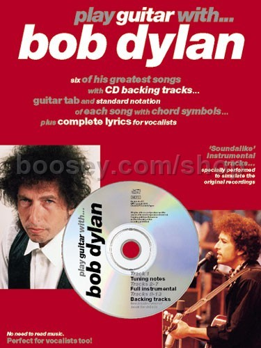 Dylan, Bob - Play Guitar With    Bob Dylan (Book & CD)