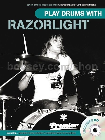 Razorlight - Play Drums With    Razorlight (Book & CD)