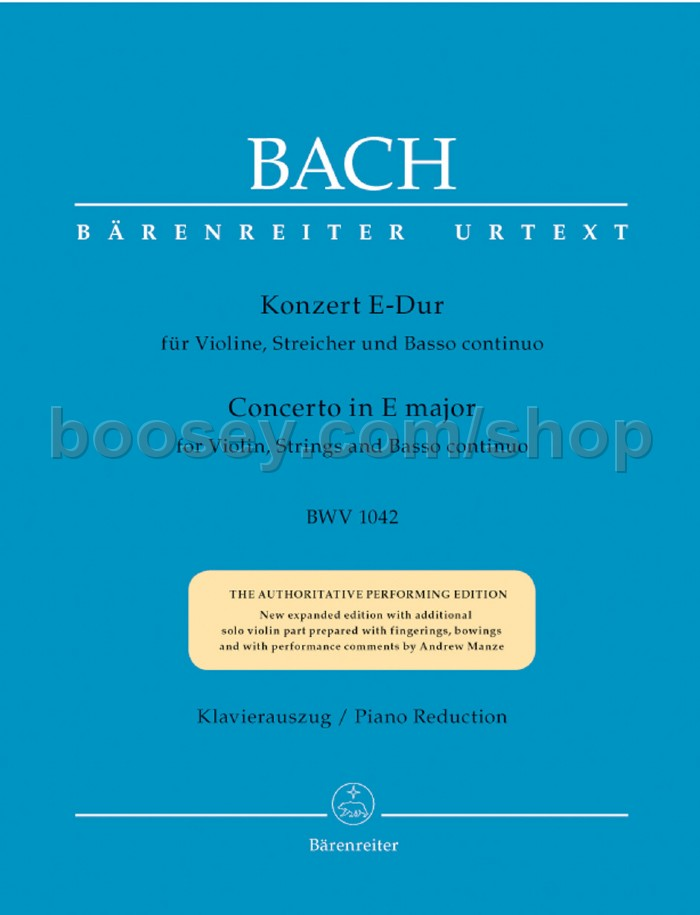 Violin Concerto In E Major, BWV 1042: III. Allegro Assai ...