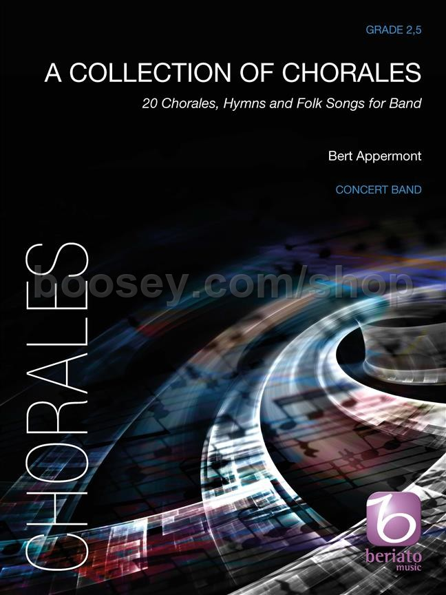 Appermont, Bert - A Collection of Chorales for concert band (score