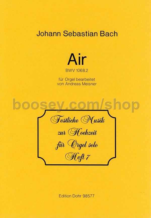 johann sebastian bach air from suite bwv 1068 wedding