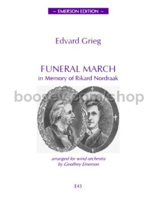 Grieg, Edvard - Funeral March in memory of Rikard Nordraak