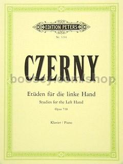 Carl Czerny Op 24 Studies for the Left Hand 718 Piano Technique