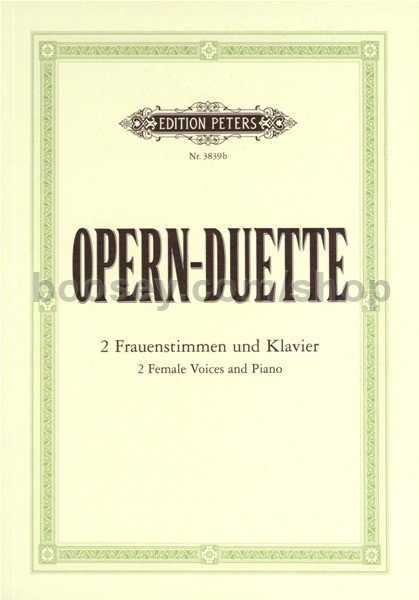 Various - 12 Opera Duets for 2 Female Voices