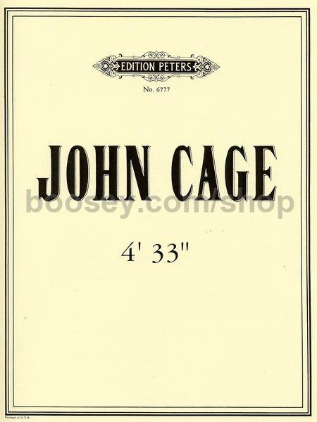 """Képtalálat a következőre: """"Cage: 4'33"""""""""""