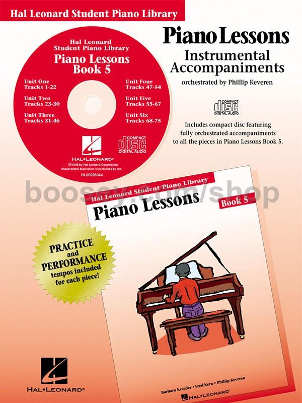 Book 1 hal leonard lessons piano