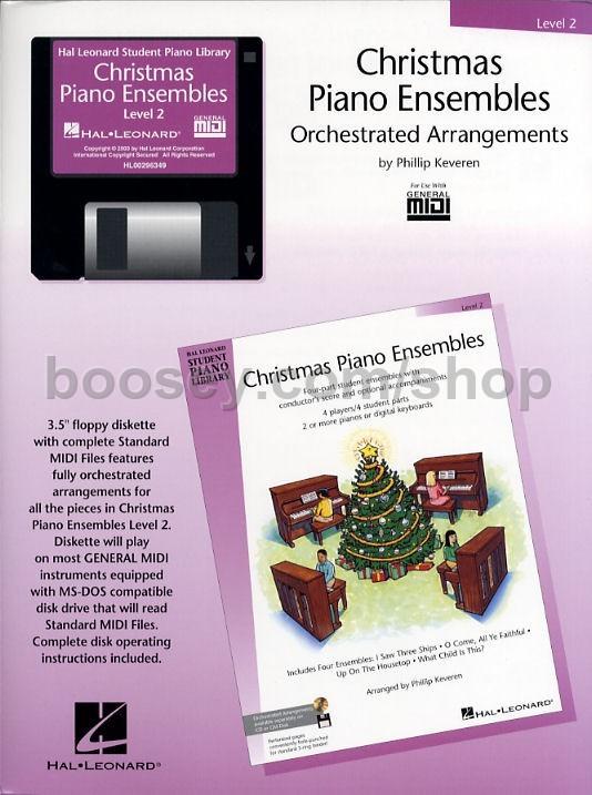 Hal Leonard Student Piano Library: Christmas Piano Ensembles