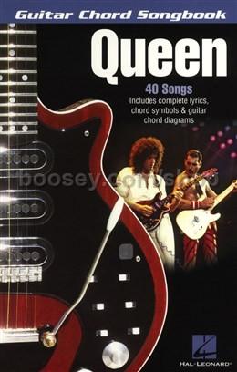 Queen - Guitar Chord Songbook: Queen Lyrics & Chords