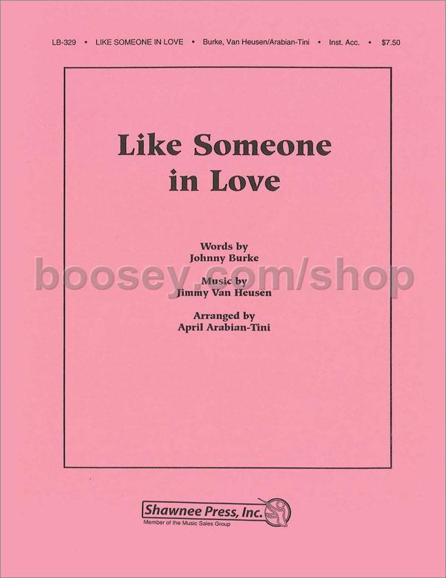 Arabian-Tini, April - Like Someone in Love - instrumental