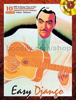 Reinhardt, Django - Easy Django Vol 1 - guitar tab (+ CD)