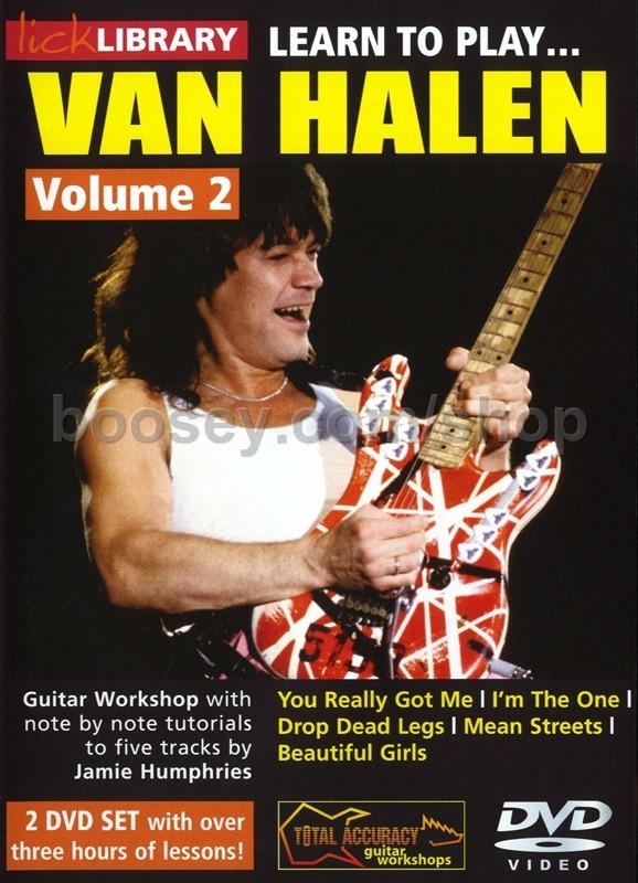 Van Halen - Learn To Play Van Halen Vol 2 Lick Library DVD