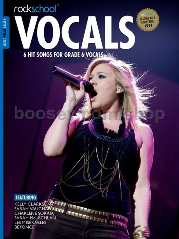 Rockschool - Vocals 2014-2017, Grade 6 - Female (book + download card)