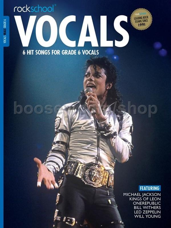 Rockschool - Rockschool Vocals Grade 6 - Male (book +