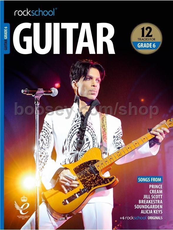 Rockschool Guitar Grade 6 2018-2024 TAB Music Book//Audio Songs Exercises Tests