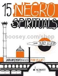 Mary Alain 15 Negro Spirituals für Klavier