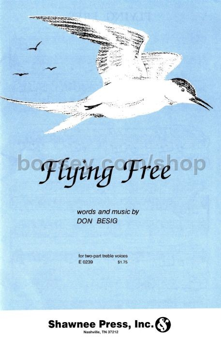 flying free don besig sheet music for