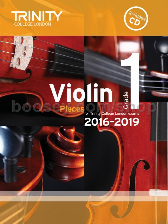 Violin Exam Pieces Grade 1, 2016-2019 (score, part & CD