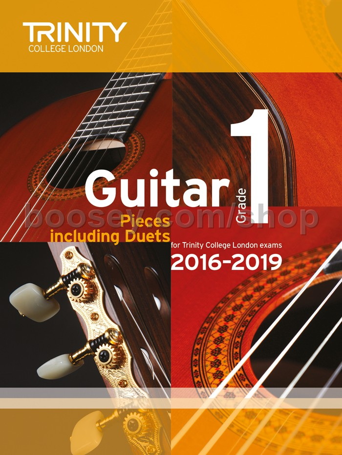 Guitar Exam Pieces Grade 1 2016-2019 - Trinity College London