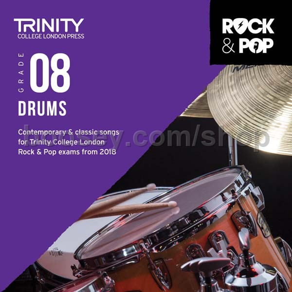 Rock /& Pop 2018 Drums Grade 1 Trinity Drum Teaching Material