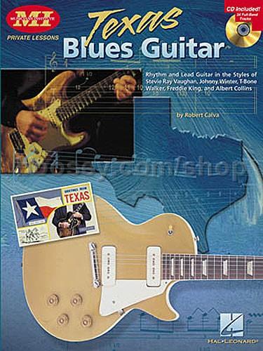 Calva, Robert - Texas Blues Guitar Calva (Book & CD) tab