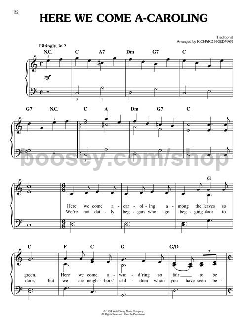 Various - Christmas with Disney (Easy Piano)