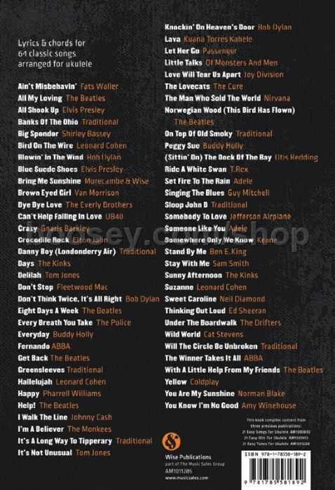 Various 64 Easy Songs For Ukulele