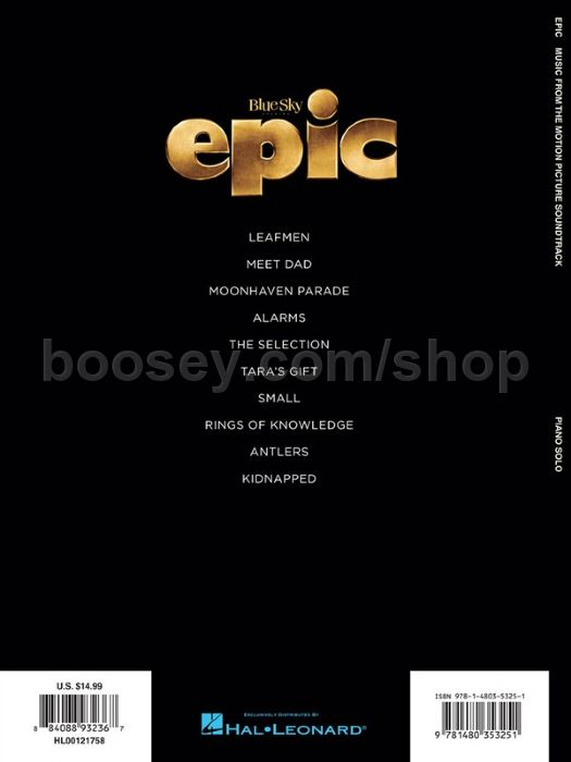 Epic: Music From The Motion Picture Soundtrack