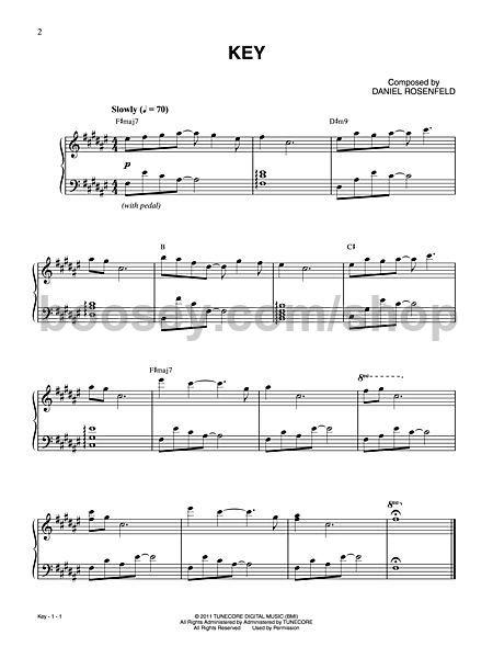 Rosenfeld, Daniel 'C418' - Minecraft - Volume Alpha for piano