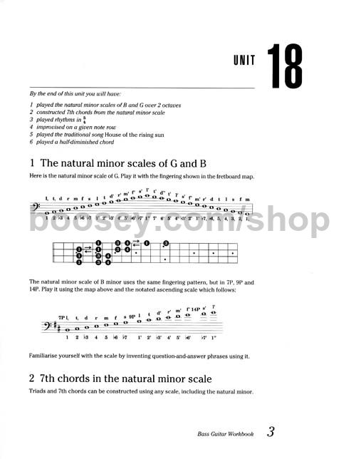 Richards, Eric - Music Factory Bass Guitar Workbook 3