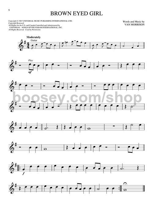 Various Classic Rock Alto Sax Easy Instrumental Play Along