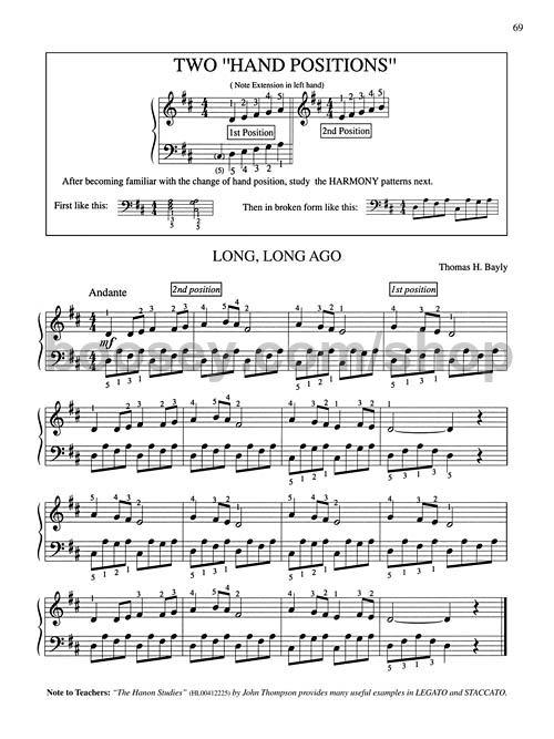 John Thompson/'s Modern Course Plus Popular Piano Solos Piano SHEET MUSIC BOOK