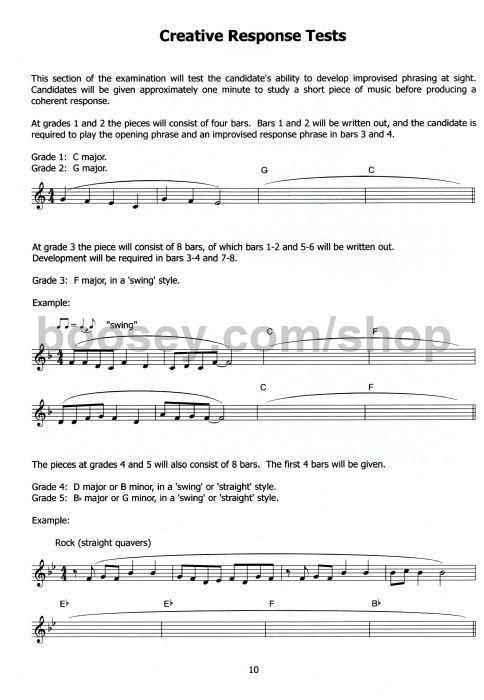 Popular Music Vocals Grade 6 London College of Music LCM Singing Exam Book