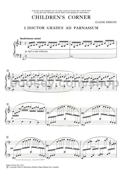 Claude Debussy - Children's Corner for piano