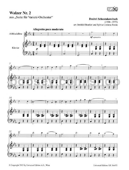 Shostakovich, Dmitri - Second Waltz from